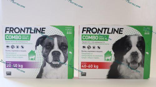 Фронтлайн Комбо/Frontline Combo за куче 1 пипета