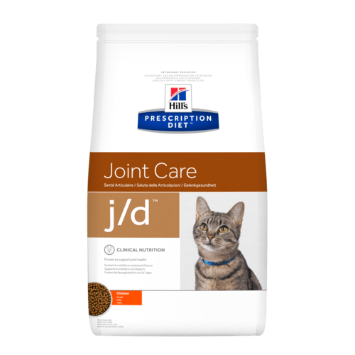 PD Feline j/d 2 kg. - диета за котка с остеоартритни заболявания