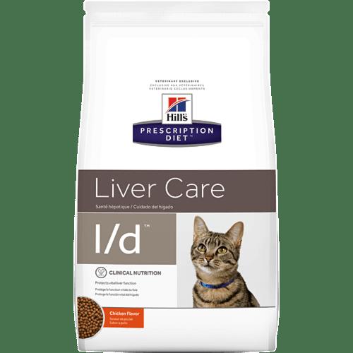 PD Feline l/d 1,5 kg. – при хронична чернодробна недостатъчност при котки