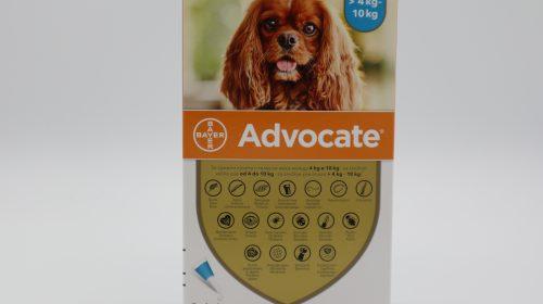 Адвокейт/Advocate Dog - външно и вътрешно обезпаразитяване на куче 1 пипета