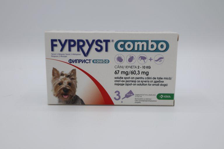 ФИПРИСТ КОМБО/FYPRYST COMBO за кучета - 1 пипета
