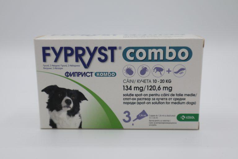 ФИПРИСТ КОМБО/FYPRYST COMBO за кучета - 1 пипета - 0